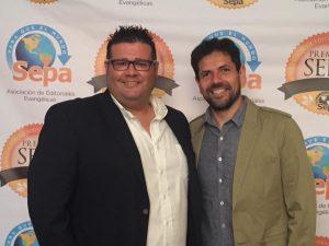 Gabriel Salcedo y nuestro colaborador Juan Triviño